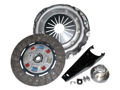 Kit embrayage renforce disque mecanisme , butee et fourchette