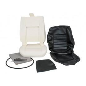 Kit refection 1 siège complet vynil noir
