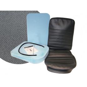 Kit refection siege central vinyl gris anthracite