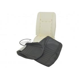 Kit Refection siège avant Defender Vinyl gris lisse