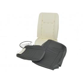Kit refection siège avant Defender vinyl gris