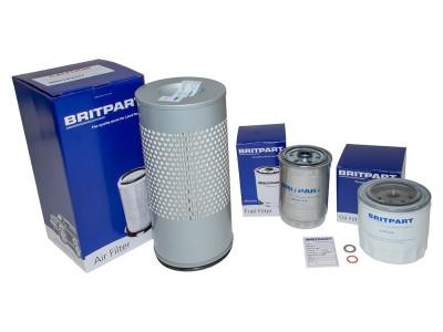 Kit de filtres air carburant et huile