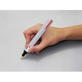 White gold paint pen