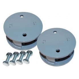 Blocks for enhancing rear + 5cm