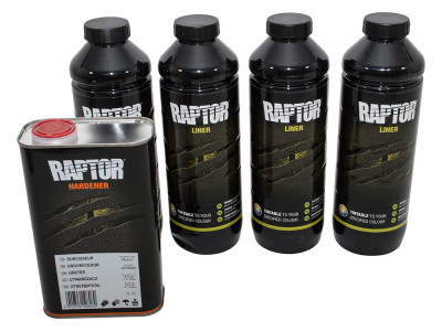 Kit de 4 raptor tintable + 1 durcisseur