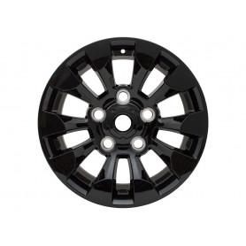 Jantes aluminium 18x8 noire sawtooth pour defender