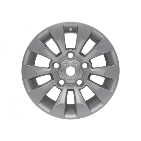 Jante aluminium 8 x 18 silver sawtooth pour defender