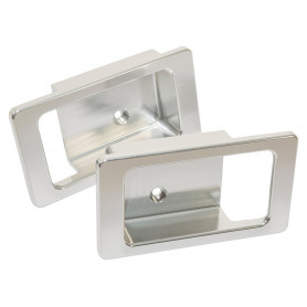 Door lever surrounds