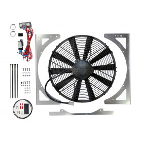 High power suction fan