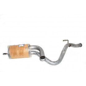 Cata no muffler rear defender 90 300 tdi from 1996 to 1998