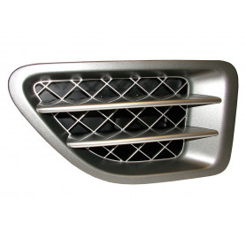 06-09, left side supercharged side vent grill