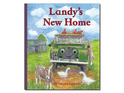 Landy new home hardback book