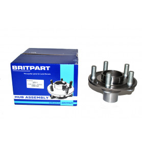Rear hub assembly without bearing excludes bearing for freelander 2