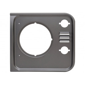 Headlight surround left brunel grey