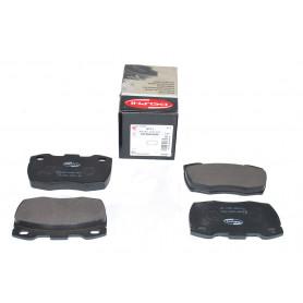 Set of front brake pads ferrodo