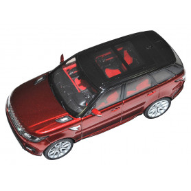 Diecast model range rover rover red