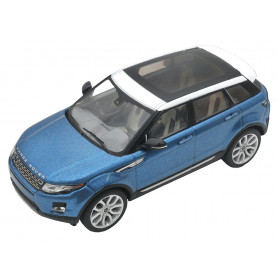 Diecast model range rover evoque