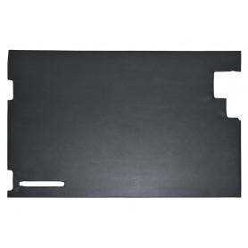 Garniture de porte arriere noire