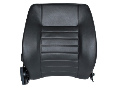 Dossier de siege defender vinyl noir cote passager