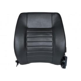 Seat left hand back black defender