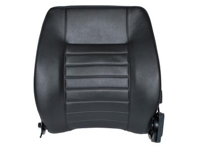 Dossier de siege defender vinyl noir cote chauffeur