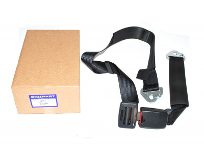 Land rover lap seat belt assembly