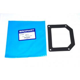 Joint-plaque de recouvrement-serrure de porte arriere coffre