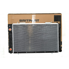 Radiator with oil cooler defender 2.5 td