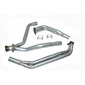 V8 y-pipe and automatic 3.9 l box