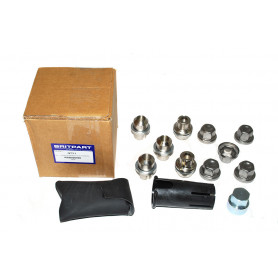Alloy wheel lock nut set of5