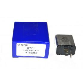 Unit control of flashing lights - lights of distress