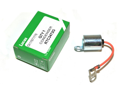 Condensateur intermotor