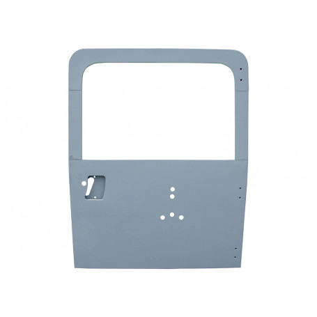 Porte arriere sans vitre avec porte roue