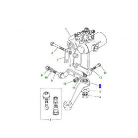 Lever steering boxes 6 bolt defender