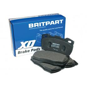 Set of front brake pads