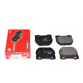 Brake pad set rear