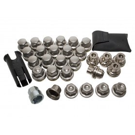 Kit 4 anti-theft nut aluminum wheels - disco 2 / p38