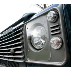 Protector headlamp defender plastic