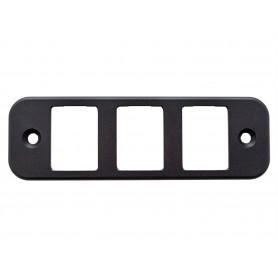 ensemble panneau-support montage-interrupteurs