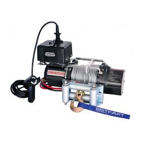 Treuil 2t7 moteur 3,6 cv cable acier