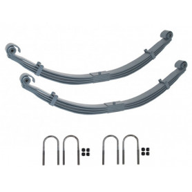 4 leaf parabolic spring rear kit pair series 109