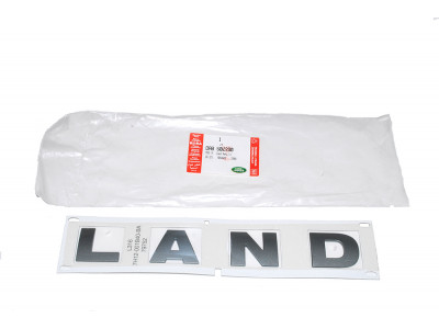 "autocollant de calandre defender td4 "" land"""