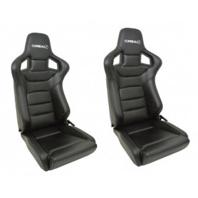 Corbeau sportline rrs low base seats vinyl