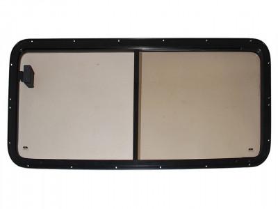 Paire de vitre laterale bronze