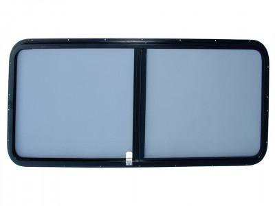 Paire de vitre laterale bleu