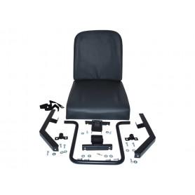 Rear seat individual inward facing