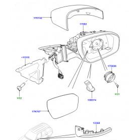retroviseur exterieur droit Range Rover L405