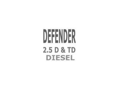 Moteur 2.5 & 2.5 TD Defender