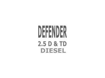 Durites Refroidissement Defender 2.5 D - 2.5 TD
