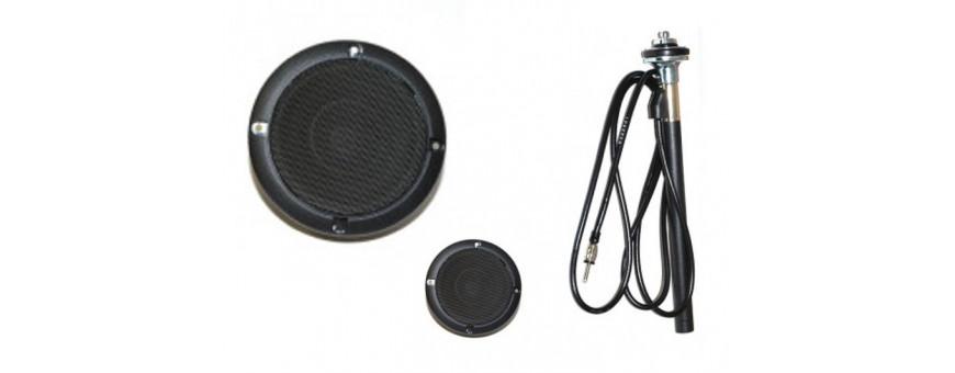 Radio et Haut parleur Defender
